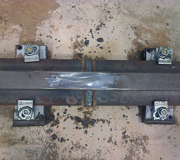 Puddle Arc Welded Joint